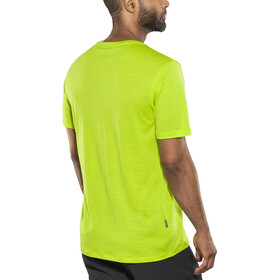 Icebreaker Tech Lite t-shirt Heren groen